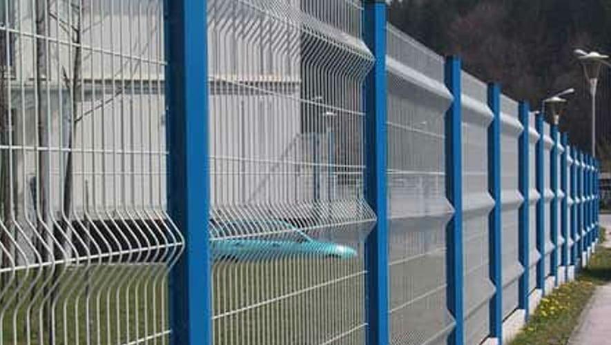 J.B. Corrie | Corrie V mesh Panel Fence System