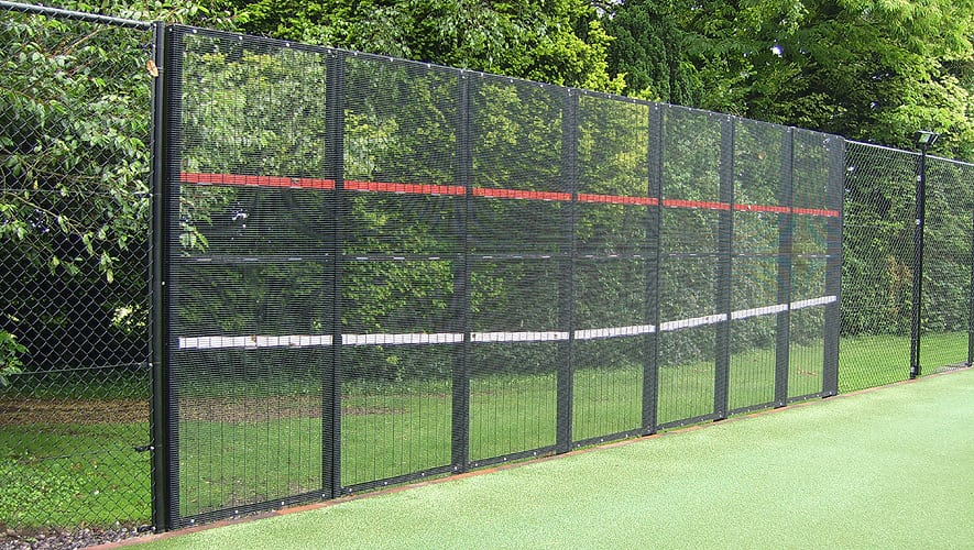 how to build tennis practice wall