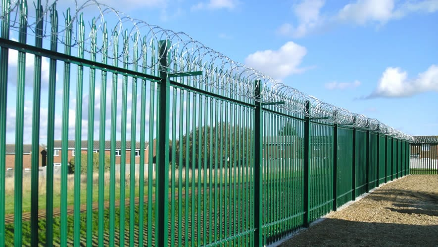 J b corrie perimeter fencing