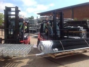 New JBC Forklift