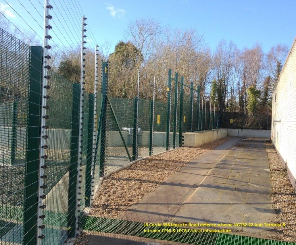 J b corrie high security fences to national flood