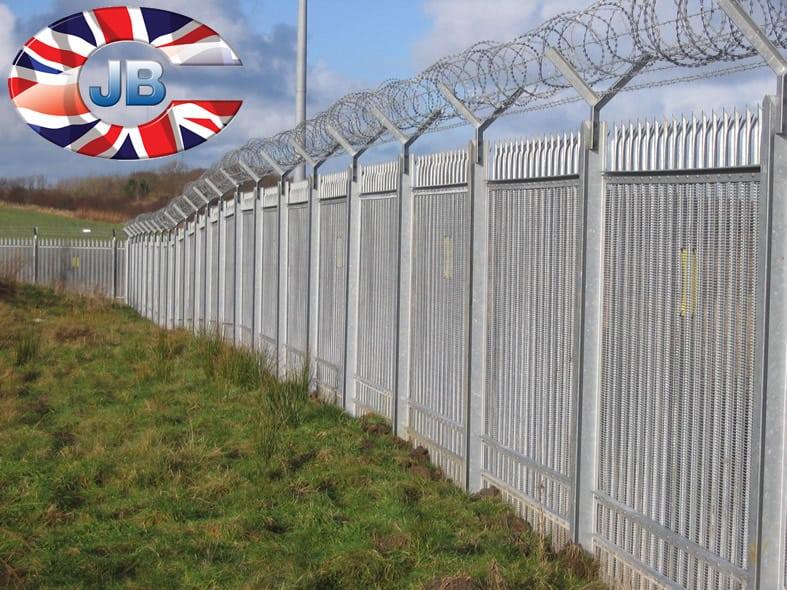 J b corrie security fencing gallery